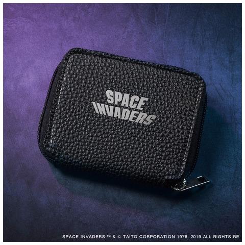 スペースインベーダー BIGロゴサコッシュ&コンパクトレザー財布2