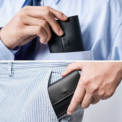 SHIPS カード一括管理高機能ミニ財布2