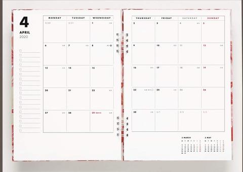 マルニ 花咲くワーキング手帳4