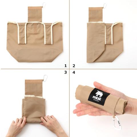 ショッピングバッグ&カラビナ3