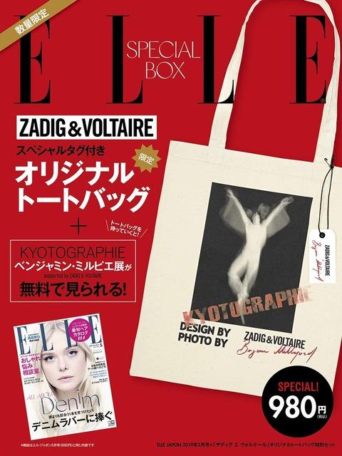 ELLE JAPON (エル・ジャポン) 2019年 5月号 × 特別セット 表紙
