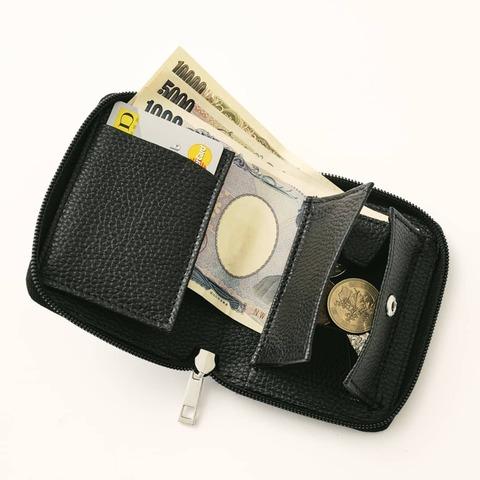 スペースインベーダー BIGロゴサコッシュ&コンパクトレザー財布3