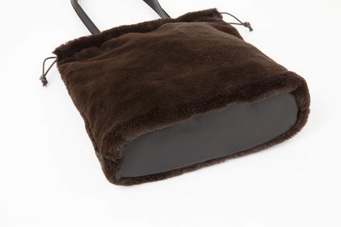 エレンディーク エコファー巾着バッグ4