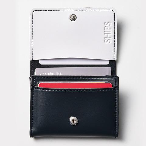 SHIPS 長財布・カードケース・キーリング3点セット7
