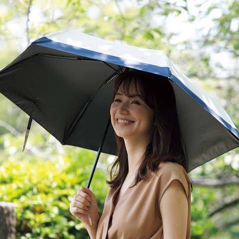 100%遮光日傘2