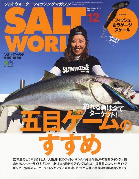 SALT WORLD(ソルトワールド) 2019年 12月号