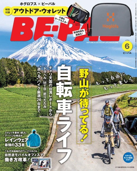 BE-PAL(ビーパル) 2019年 6月号 表紙