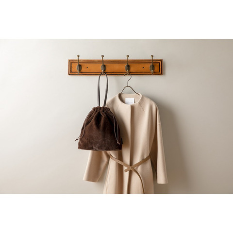 エレンディーク エコファー巾着バッグ5