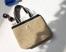 結城アンナさん&PLAIN PEOPLE 夏のおしゃれかごバッグ