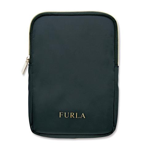FURLA ミラー(クロコダイル)&ミラーケース3
