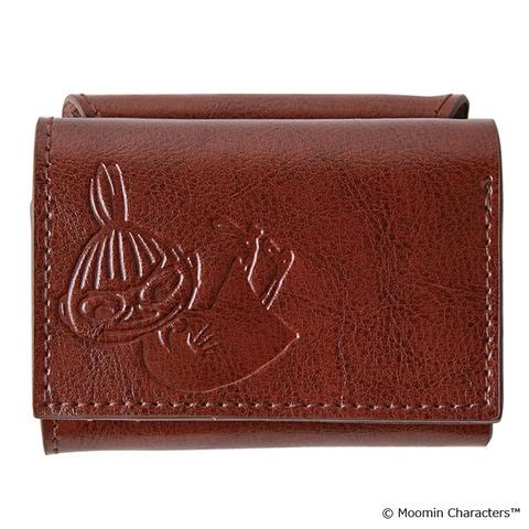 本革三つ折りミニ財布