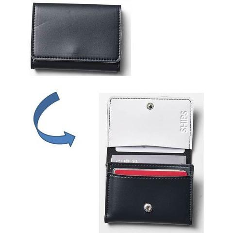 SHIPS 長財布・カードケース・キーリング3点セット3