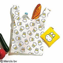 クイーンミッフィー ふわふわ刺繍ポーチ&エコバッグセット