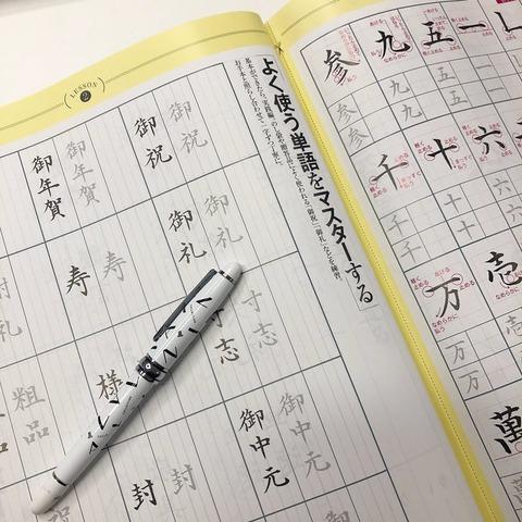 ランバンコレクション 万年筆&筆ペン2本セット2
