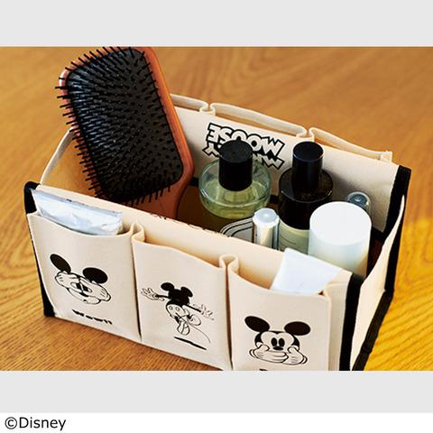 ミッキーマウス 6ポケット付きティッシュBOXケース3