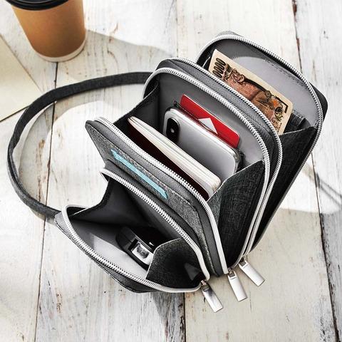 ジャーナルスタンダード タテ型お財布ショルダーバッグ3