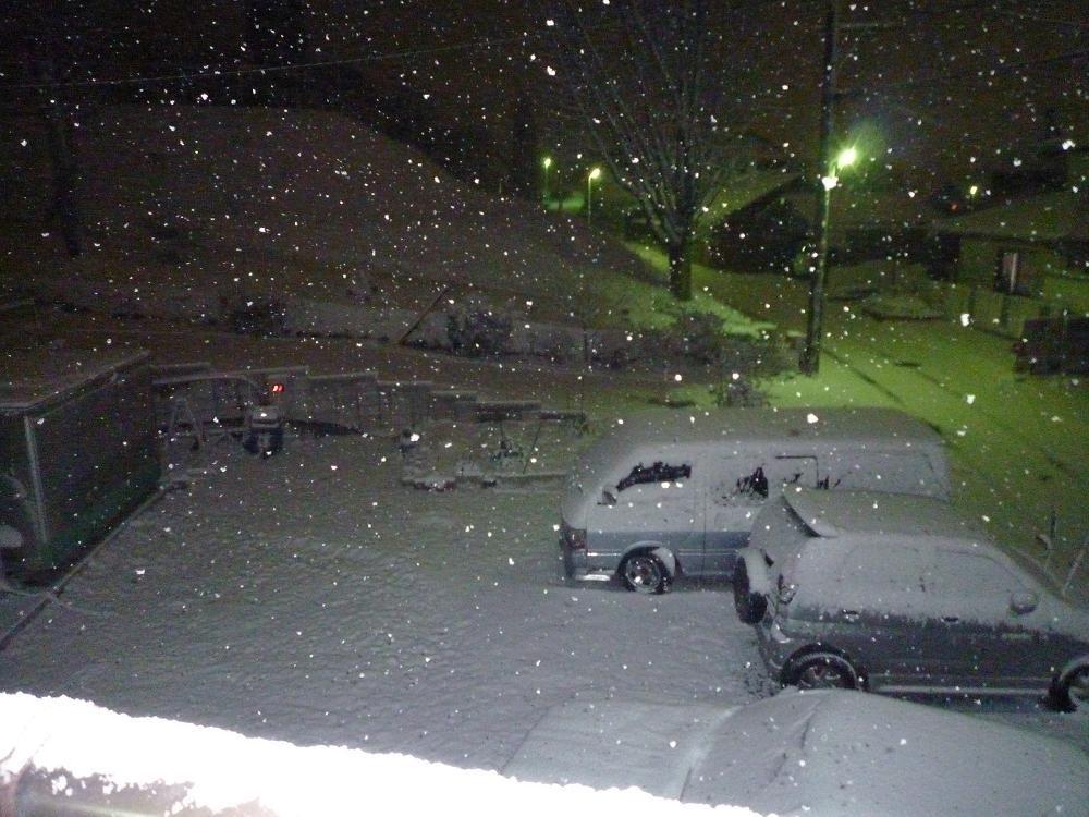 岐阜は大雪です。