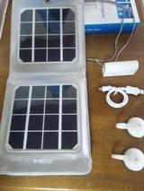 eneloop portable solar購入