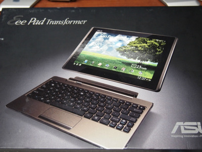 キーボードドック付きのAndroidタブレット、Eee Pad TF101を購入