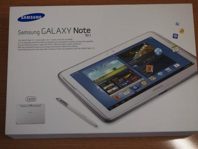 Samsungが侵食してくる!GALAXY Note 10.1を購入