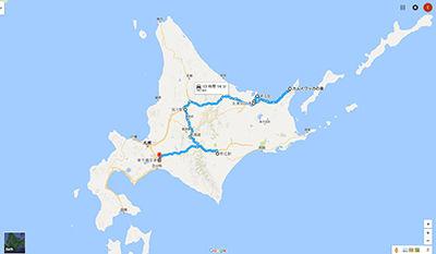 夏の旅写真 北海道