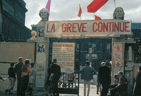 la greve continue 1968 06