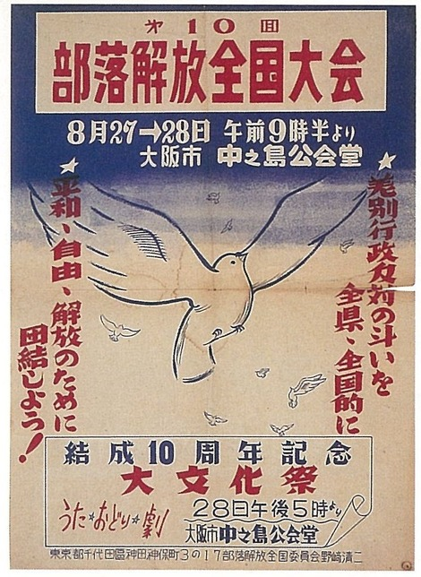 第10回部落解放全国大会大阪