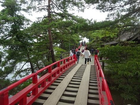 松島・五大堂すかし橋190809