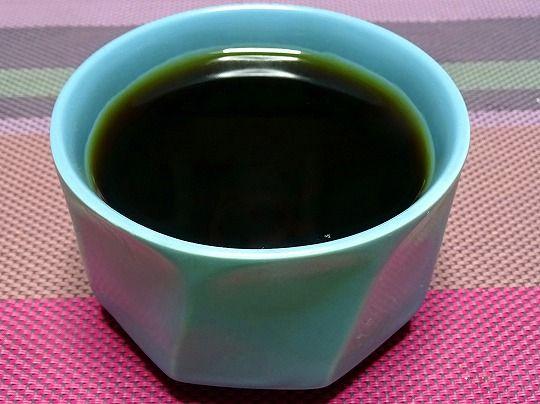 ざる茶そば (4)