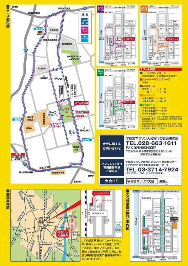 宇都宮マラソンコース