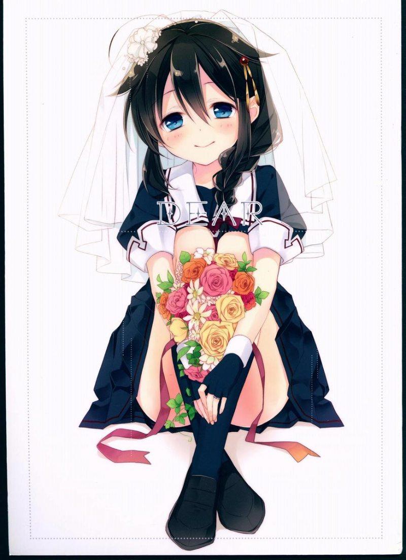 【全年齢】キュートな艦娘たちのイラスト集!コスプレから花嫁姿まで♪【艦隊これくしょん,同人誌】