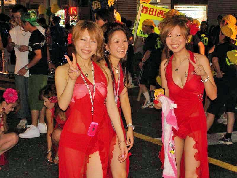日本の夏祭り画像(エロ)まとめ