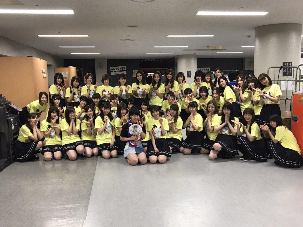 【乃木坂46全ツ2017大阪3日目】平野美宇と集合写真