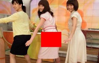 【パン線】新井恵理那アナ、突き出したお尻にパンティーラインが!【画像あり】