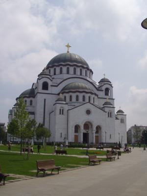聖サヴァ教会1、外観(ベオグラード)
