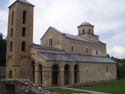 ソポチャニの修道院