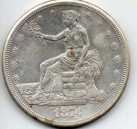 米国貿易銀女神