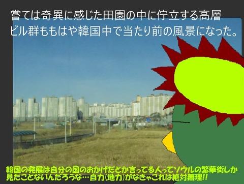 韓国の田園