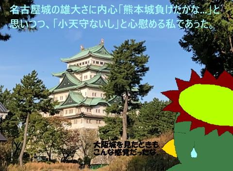 名古屋城に圧倒される