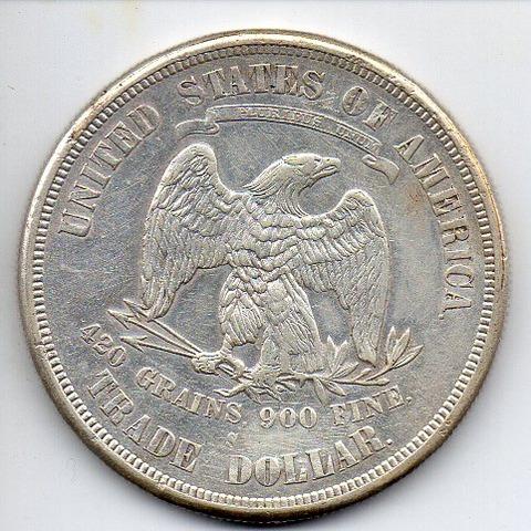 米国貿易銀鷲図