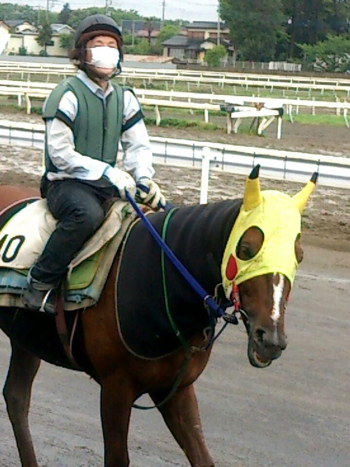 20140501075256502 ひょっとしたら長谷川忍厩舎もコスプレメンコ厩舎になるかも!?