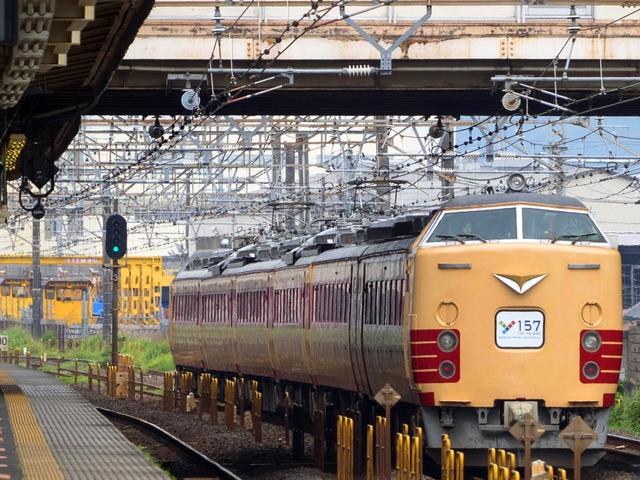Y157記念列車3