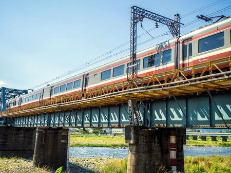 酒匂川鉄橋4