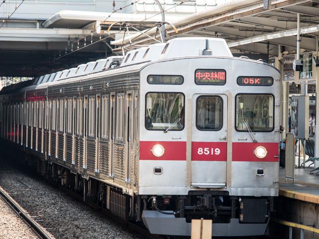 8500系東急通勤1