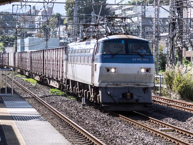EF66 103貨物01
