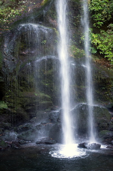 夕日の滝4