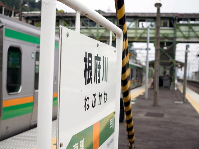 根府川駅4