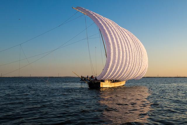 帆引き船18