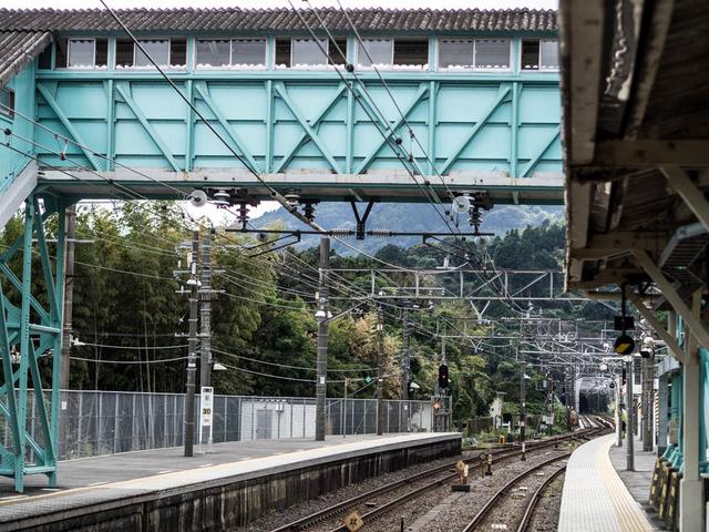 鉄路(根府川駅)08