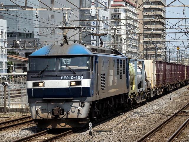 EF210-156電気機関車01